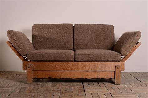 bed settees sofa beds 1930 s heals oak bed settee antiques atlas