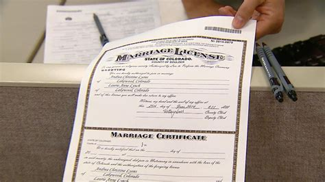 Arapahoe County Marriage Records Not Many Same Couples Request Marriage Licenses On Day
