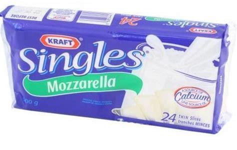 Cheese Halal Halal Discoveries Kraft Mozzarella Singles