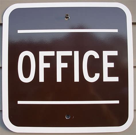 Office Sign In Office Sign