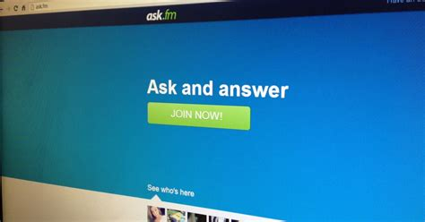 askfm logout ask fm unveils new safety features manchester evening news