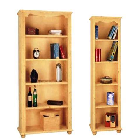 libreria legno naturale libreria in legno massello classica