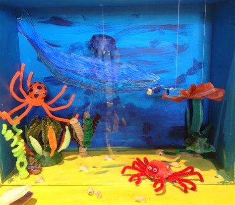 free printable ocean diorama ten easy ocean diorama crafts