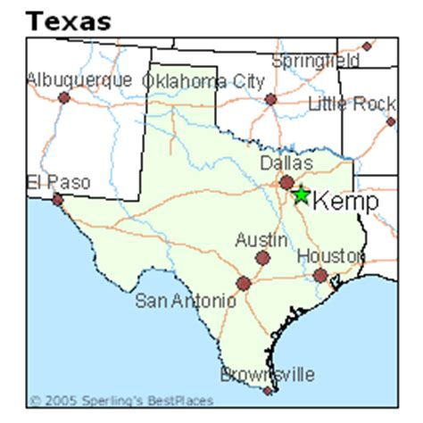 where is kemp texas on a map best places to live in kemp texas