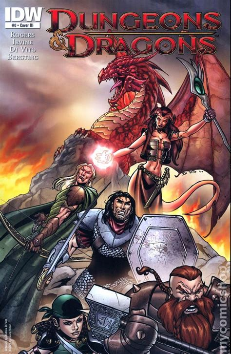 dungeons and dragons comic by dungeons and dragons 2010 idw comic books