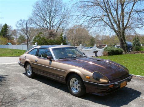 nissan datsun 1983 nissan 280zx coupe t tops 1983 brown gold for sale