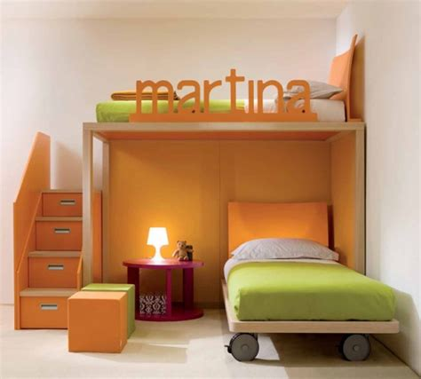 cool bedrooms for cool and ergonomic bedroom ideas for two children by