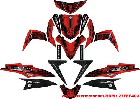 Sticker Striping Motor Stiker Honda Supra X Transformers Hijau Spec A striping mio soul gt transformer stikermotor net