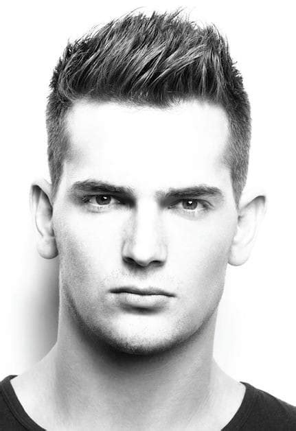 hairstyles for men short top spiky and longer back cool and stylish spike haircuts short hairstyles for men