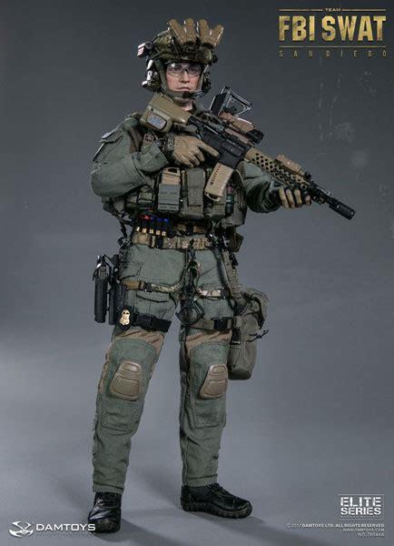 楽天市場 1 6 エリートシリーズ Fbi Swatチーム エージェント サンディエゴ Damtoys 送料無料