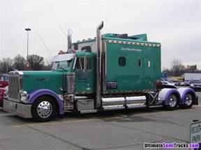 custom semi truck sleepers images