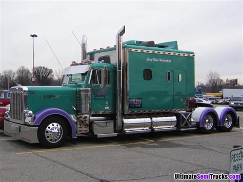 Sleeper Trucks by Custom Built Semi Truck Sleepers Pictures To Pin On