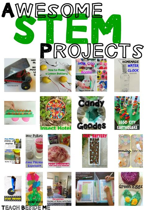 stem classroom projects 20 elementary stem science projects teach beside me