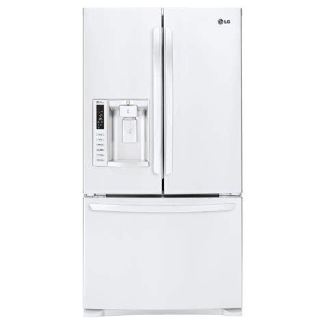 Door Refrigerator White by Lg Electronics 26 8 Cu Ft 3 Door Door
