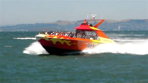rocket boat san francisco california rocket boat pier 39 youtube