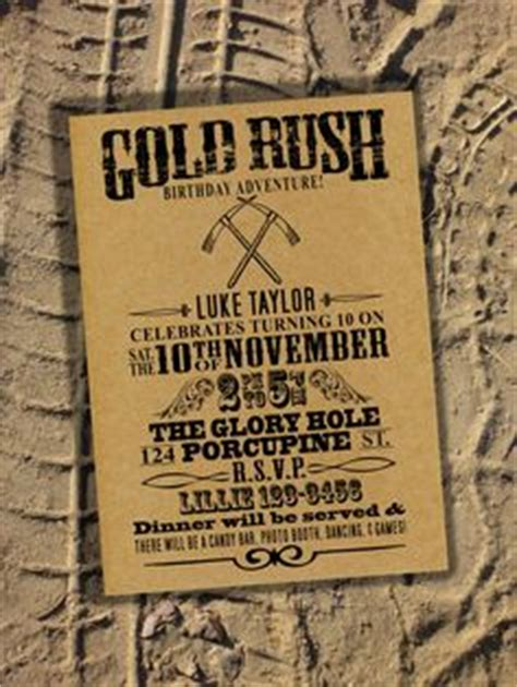gold rush themes 1000 images about mining party ideas on pinterest gold