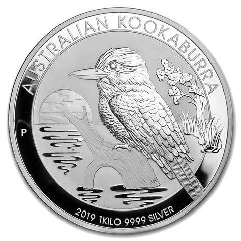kookaburra silver coin 1kg 1 kg 2019 silver kookaburra coin