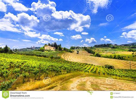 meloda en la toscana sch 246 ne toskana landschaften italien stockfoto bild 57768427