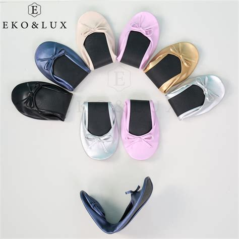 fold up flats shoes after shoes foldable ballet flats portable travel