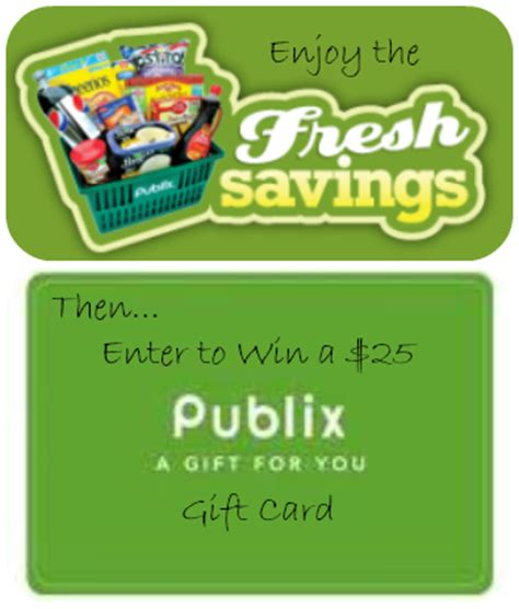 Publix Gift Card Giveaway - nanny to mommy fresh savings at publix 25 gift card giveaway