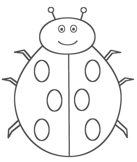 ladybug picture coloring pages