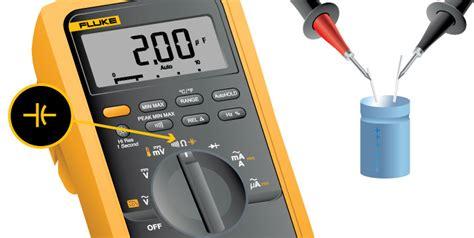 how to check tv capacitor with multimeter cara mengukur kapasitor dengan multimeter analog dan digital