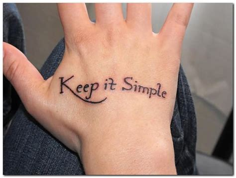 simple tattoo phrases 38 beautiful word tattoos