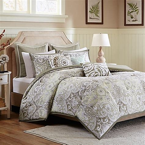 Taupe Duvet Harbor House Cecil Duvet Cover Set In Taupe Bed Bath