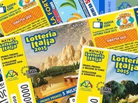 premi consolazione lotteria italia lotteria italia premi consolazione 2016