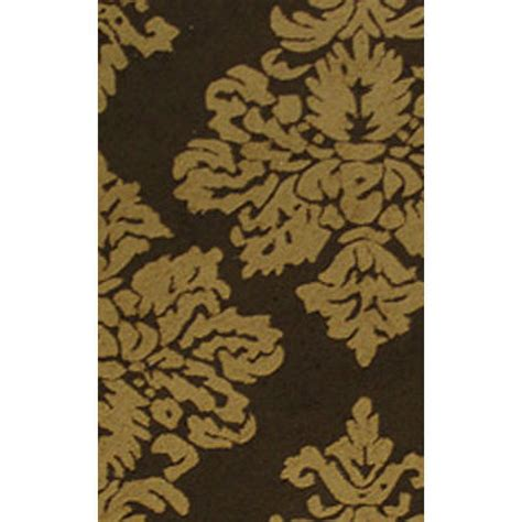 Brown Damask Rug by Damask Gold Brown 8x10 Sku Rugm 25201e Machine