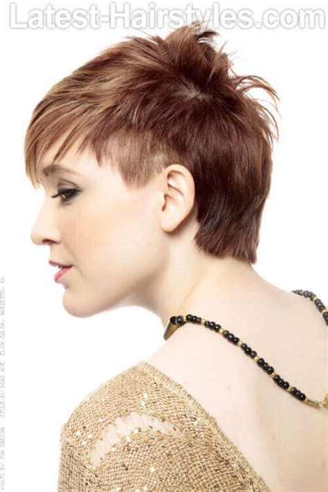 side view of asymmetric hairstyles 20 hairstyles that will make you want short hair with bangs