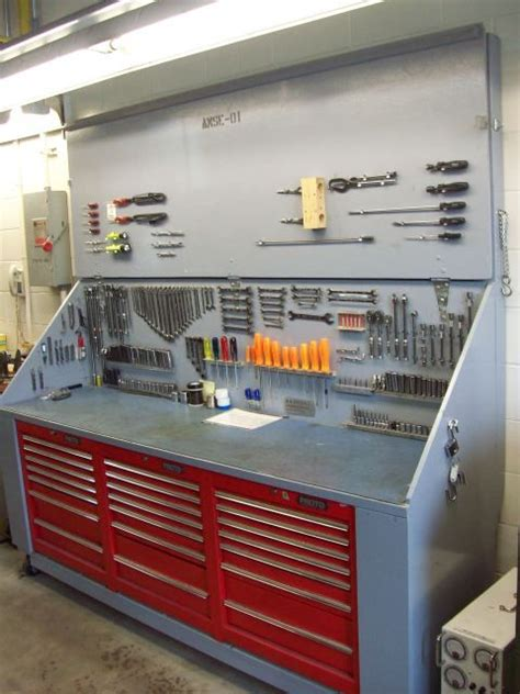 workshop work bench i like this idea of putting toolbox cabinets under a