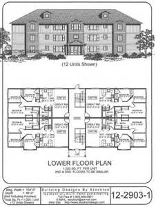 24 unit apartment building plans http