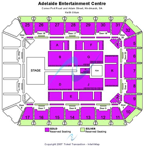 entertainment centre floor plan green day in hindmarsh tickets adelaide entertainment