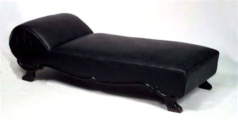 psychiatrist sofa turn of the century american leather psychiatrist s couch