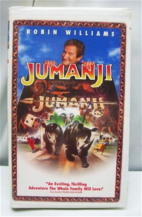 jumanji film details details about jumanji video vhs clamshell movie robin