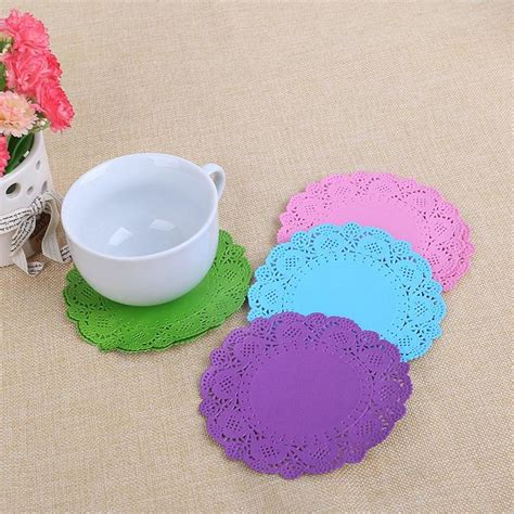 colored doilies china colored paper doilies 3 5 inch manufacturers