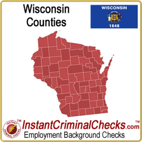 Criminal Background Check Wisconsin Wisconsin County Criminal Background Checks Wi Court