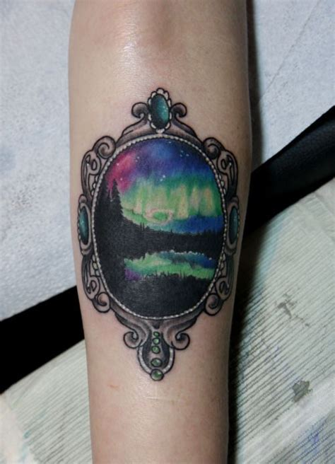 aurora tattoo 25 best ideas about northern lights on