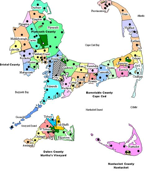 map of cape cod ma cape cod fd map