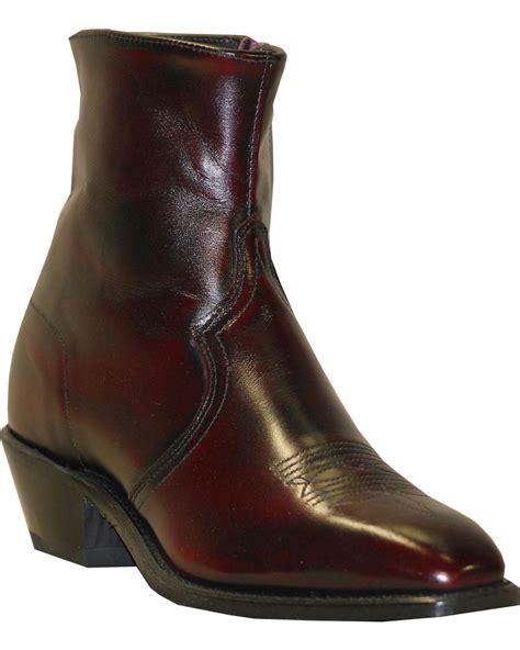 mens zipper dress boots abilene boot s zipper dress boot 6464 ebay