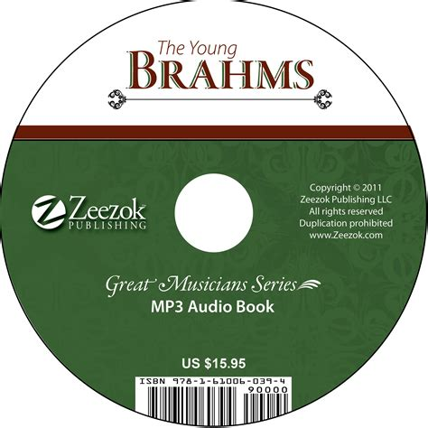 format of audio books the young brahms audio book on cd mp3 format