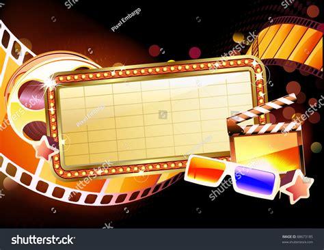 html images marquee vector illustration of retro illuminated movie marquee
