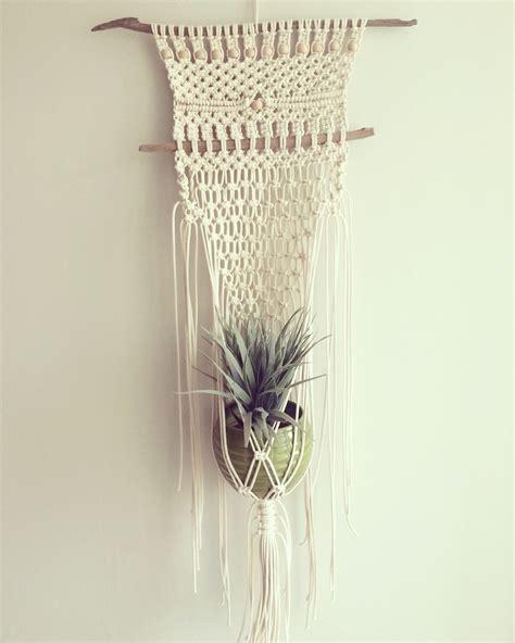 Macrame Patterns For Hanging Plants - macrame plant hanger macrame plant hanger modern
