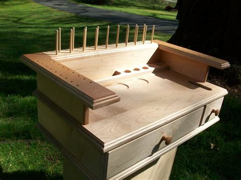 fly tying bench plans free fly tying station by dale lumberjocks