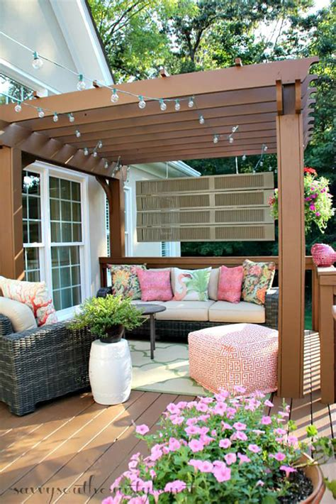 Decoration Patio by Backyard Landscape 16 Amazing Diy Patio Decoration Ideas
