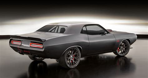sema challenger sema 2016 dodge shakedown challenger is a mix of history