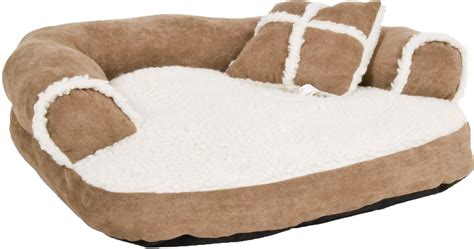 pet sofa bed aspen pet sofa bed for dogs cats color varies chewy