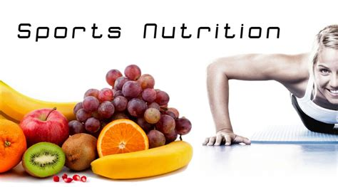 Sports Nutrition Healthy All About This That Affects Many