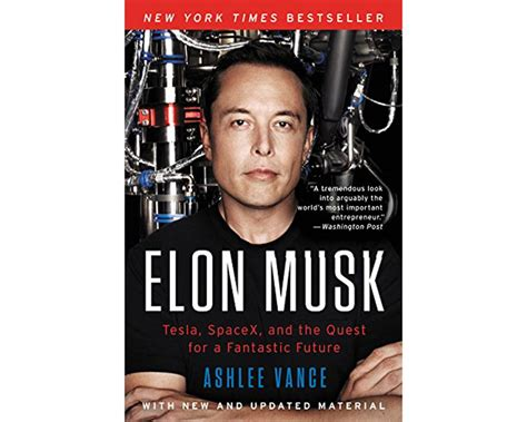 elon musk tesla spacex and the quest for a fantastic here are 15 books that will help you succeed in the tech